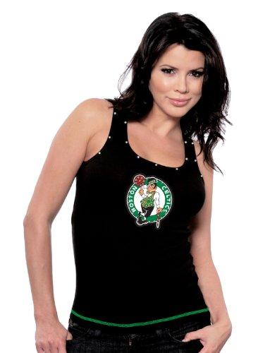 Majestic Threads Boston Celtics Tank Top, Small, Black
