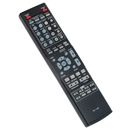 RC-1149 RC1149 Replace Remote Control fit for Denon AV Surround Stereo Receiver AVR-391 DHT-391XP AVR-1311 AVR391 DHT391XP AVR1311