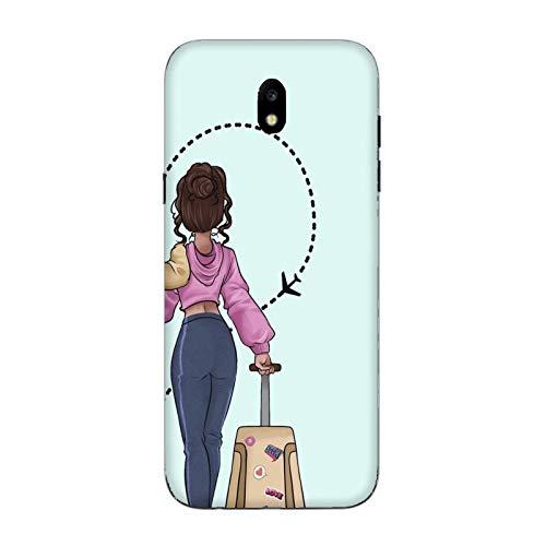Cover Samsung Galaxy J5 2017   J520 Coppia Amanti fidanzato fidanzata amore metà cuore viaggio amicizia / Custodia Stampa anche sui lati / Case Anticaduta Antiscivolo Antigraffio Antiurto Protettiva