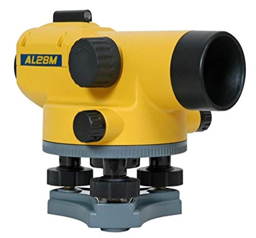 Spectra Precision AL28M Auto Level with Magnetic Dampened Compensator, 28x Magnification, Horizontal Tangent Drives, Stadia Lines for Distance Measurement, Water Resistant