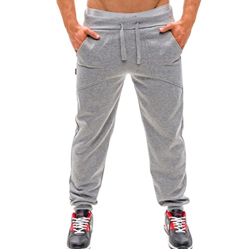 Dasongff joggingbroek voor heren, lange broek, fitness, workout, joggingbroek, effen sportbroek