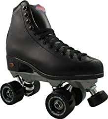 Fame boot and ROCK nylon plate. ABEC-5 bearings and Carrera toe stop. Available in Mens sizes only, whole sizes only, medium width, Women should choose one size smaller Fame roller skate wheels for indoor use only. Perfect for skating rink use. On th...