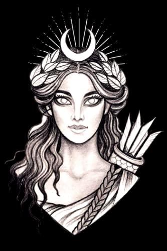 Artemis Notebook: Greek Mythology Artemis Hunt Goddess Notebook Blank Lined Pages Journal For Women Composition Notebook for School or Work Writing journal for Ancient Greece God Lovers