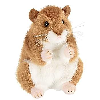 Bearington Cheeks Plush Hamster Stuffed Animal 6 Inch