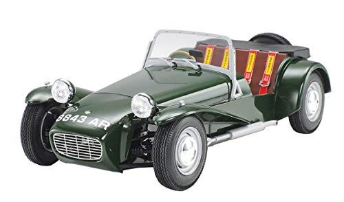 TAMIYA 24357-000 1:24 Lotus Super 7 Serie II, Modellbausatz, Plastikbausatz, Bausatz zum Zusammenbauen, detaillierte Nachbildung, unlackiert