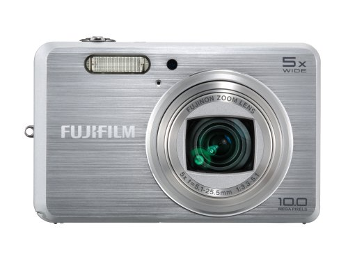 Fujifilm FinePix J150 10MP Digital Camera with 5x Optical Zoom (Silver)
