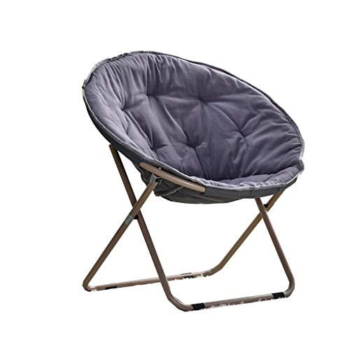 Divano Pigro Luna Sedia - Chaise Comfort Ampia Sedia pigra Balcon Chaise pliante Camping sofà Pigro Large / (Colore: D) .Divano Letto Pigro. (Color : C)