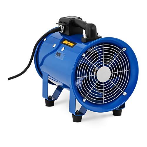 MSW Ventilador Profesional para Construcción Industrial MSW-IB-01 (Potencia: 180 W, Caudal de aire: 1500 m³/h, Diámetro: 200 mm)