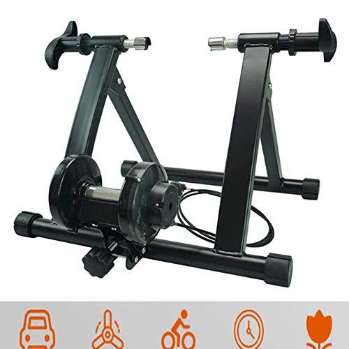 Xcmenl Entraineur Magnétique Turbo De Vélo Pliable Réglable Home Trainer 7 Niveaux Résistance...