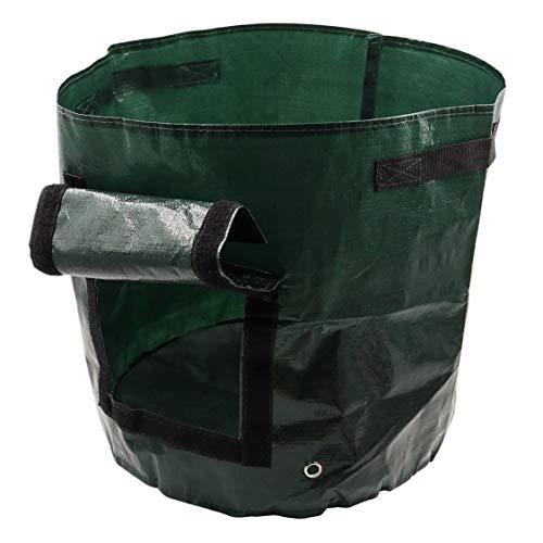 terrasse Orange jardinage Doolland Lot de 3 sacs de plantation /à suspendre pour jardinage l/égumes sacs de culture /à suspendre pour fleurs poches jardin maison fraises pour balcon vert