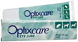 Optixcare Pet Eye Lube Lubricant for Dogs & Cats 20 gram