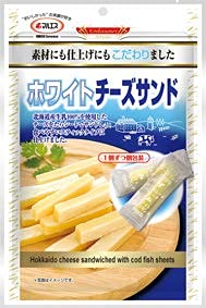 【マルエス こだわり大袋】ホワイトチーズサンド 50g