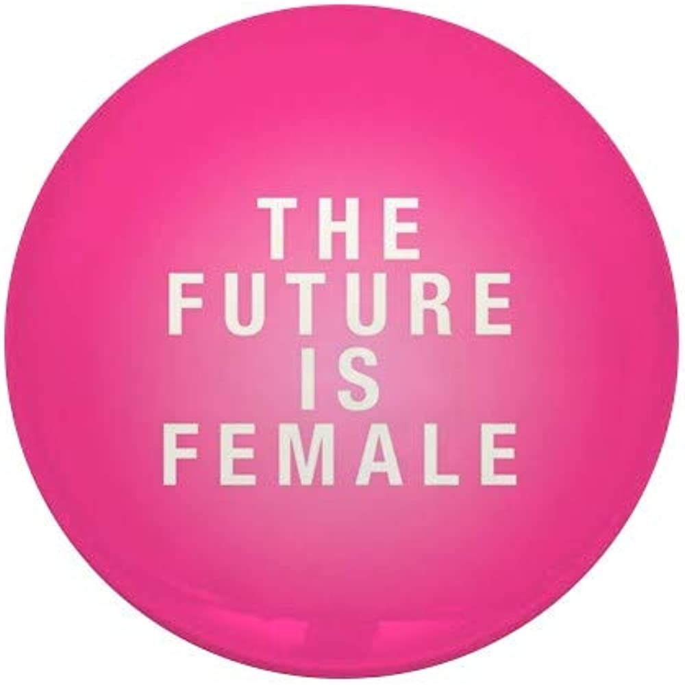 CafePress Future Is Female Mini Button Outstanding Round Mesa Mall 1