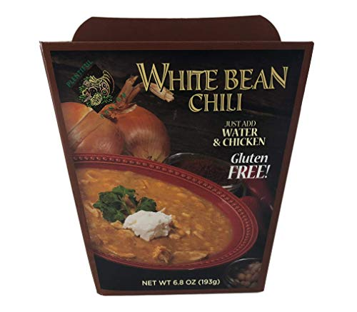 Plentiful Pantry White Bean Chili Soup Mix, 6.8 Ounce - Just add Water and Chicken - Cook & Serve