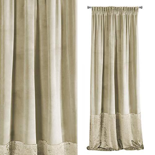 cortinas salon modernas terciopelo
