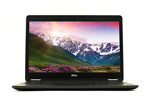 Dell Notebook Latitude E7470 14 Zoll Full HD I Business Laptop I Intel Core i5 -6.Gen Win 10 Pro I Tastatur DE | schwatz (Generalüberholt) (Intel Core I5 - 8 GB RAM - 256 GB SSD - Full HD)