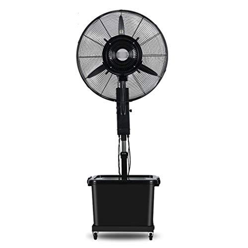 Ventilador de pie WSJ Swing Spray Refrigeración Agua Elevación de Agua de elevación Multifunción de 3 velocidades 10 horas Volumen 42 litros Negro Ahorro de energía (Tamaño: 810 mm), 810mm