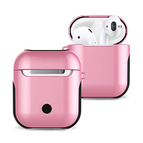 Lowest Prices! BONTOUJOUR AirPods Case, Smooth Glossy Surface Sports Colorful Hard PC Body Soft TPU ...