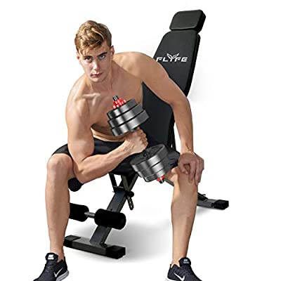 Amazon - 70% Off on Adjustable Weight Bench – Foldable and Compact Workout Bench