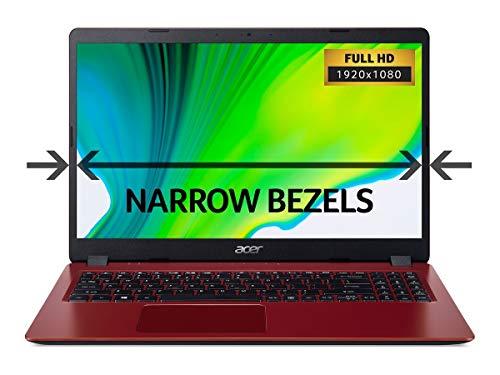 Acer Aspire 3 A315-42 15.6-Inch Laptop - (AMD Ryzen 3 3200U, 4GB RAM, 128GB SSD, Full HD Display, Windows 10, Red)