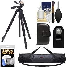 Slik 330 DX Pro Series Black Tripod 3Way Pan/Tilt Head & Quick Release with Tripod Case + ML-L3 Remote + Accessory Kit for Nikon D600, D3200, D5100, D7000, Series 1 J1, J2, V1, V2 Digital Cameras