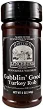 Historic Lynchburg Tennessee Whiskey Gobblin Good Turkey Rub 5 Oz. Jar (2 Pack)