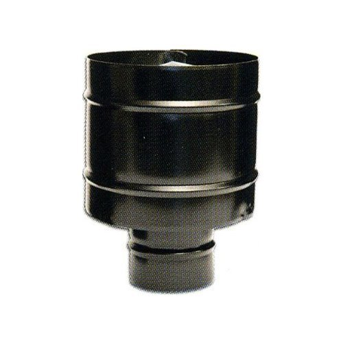 Fumaiolo WIND pour poêle à pellets INOX BLACK Diamètre 12 cm