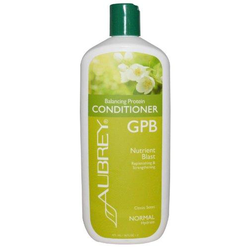 Aubrey Organics GPB Glycogen Protein Balancing Conditioner, 16-Ounce Bottle