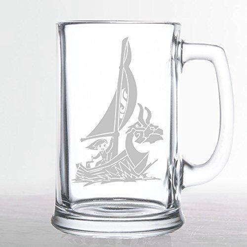 The Legend of Zelda - King of Red Lions - Etched Beer Mug