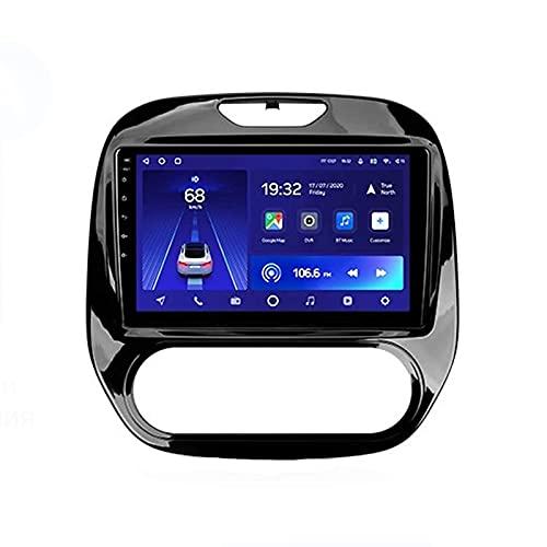 Reproductor de entretenimiento multimedia con radio estéreo para coche con pantalla táctil HD de 9 pulgadas con WIFI/Bluetooth/navegación GPS/soporte de radio FM 1080P Video/USB, para Renault