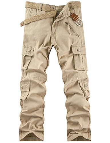 Pantalon Cargo Homme Pantalon de Travail...