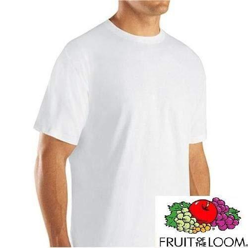 Camiseta Importada a partir dos Estados Unidos- Fruit of the Loom Branca