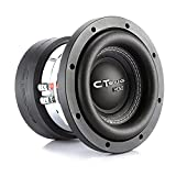 CT Sounds Meso-6.5-D4 6.5 Inch Car Subwoofer Dual 4 Ohm, 800 Watts Max