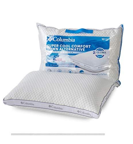 Columbia Comfort Down Alternative Ice Fiber 360 Side Sleeper Pillow King