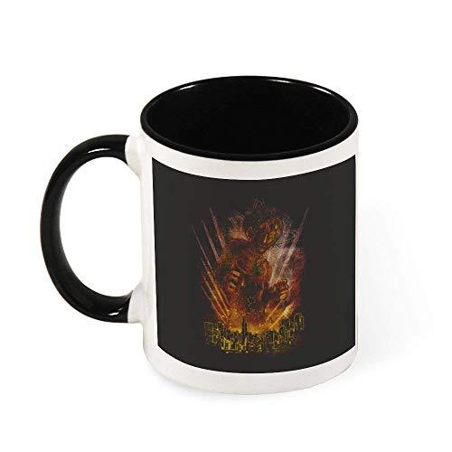 N\A Taza de cerámica Ataque En Titán Coloso Taza del té, Regalo para Las Mujeres, Las niñas, Esposa, mamá, Abuela, 11 oz