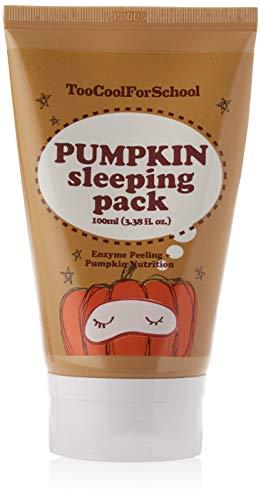 Mascarilla facial nocturna. Too Cool For School Pumpkin Sleeping Pack