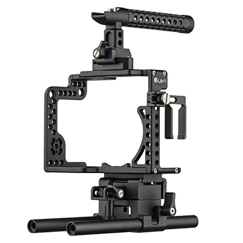 Ikan STR-GH5 Stratus Complete Cage for Panasonic GH4 & GH5, Black