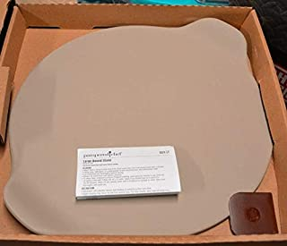 PAMPERED CHEF LARGE ROUND PIZZA STONE W/HANDELS #1371
