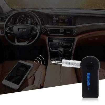 HaiMa Ts-Bt35A08 Voiture Audio Bluetooth Récepteur avec Mic-Noir Noir Câble USB