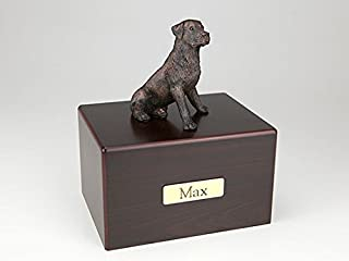 Ever My Pet Rottweiler Economy Bronze Series Dog Pet Urn 1SW200-452