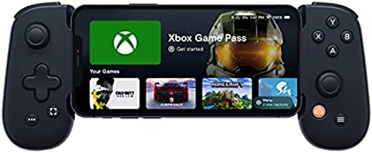 Backbone One iOS Mobile Gaming Gamepad/Controller for Apple iPhone (MFi Certified) - Apple Arcade, Playstation Remote Play, Stadia, COD Mobile [1 Month Xbox Game Pass Ultimate Digital Code Included]