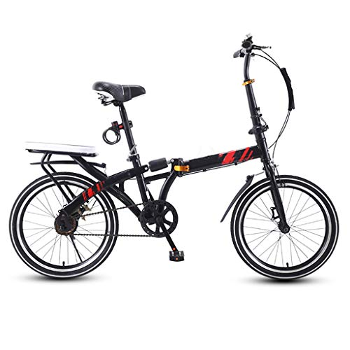 Great Price! TXTC Mini Folding Bike 7 Speed Cruiser Bikes,Portable Womens Bike Lightweight Road Bike...