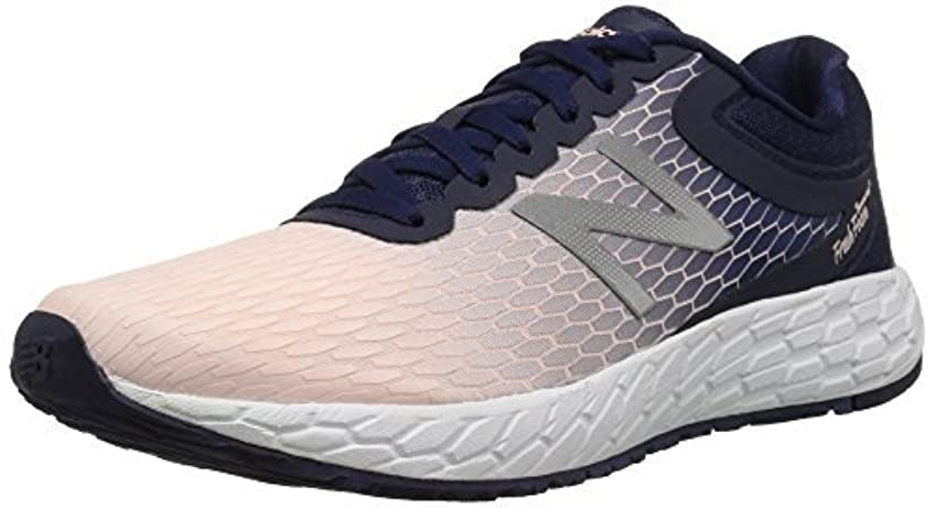 改善サーバントセールNew Balance Women's Boracay V3 Running Shoe Dark Denim/Sunrise Glow 6.5 B US [並行輸入品]