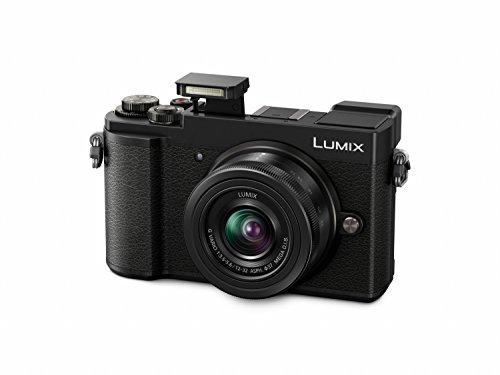 Panasonic Lumix DC-GX9KEG-K Systemkamera (20 MP, Dual I.S, Klappsucher, 4K, Touchscreen, 12-32 mm Objektiv) & SanDisk Extreme Pro SDXC UHS-I Speicherkarte 64GB (V30, U3, 4K-UHD-Videos)