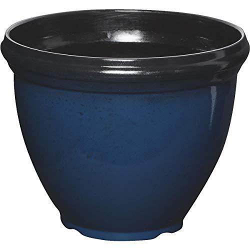 Southern Patio HDR-029755 12' Blue Hritge Planter