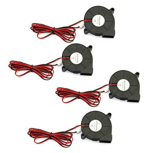 RuiLing 4-Pack 5015 DC 12V 0.18A Cooling Blower...