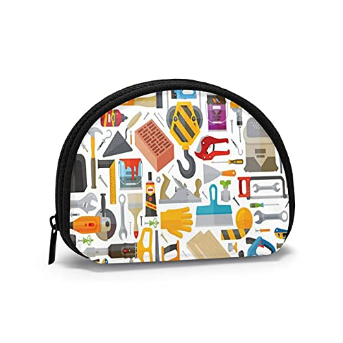 Coin Purses Herramienta Pouches for Purse Boys Small Bag Lipsticks Holder Portable Mini Change Wallets for Women Girls 4.7 X 3.5 Inch