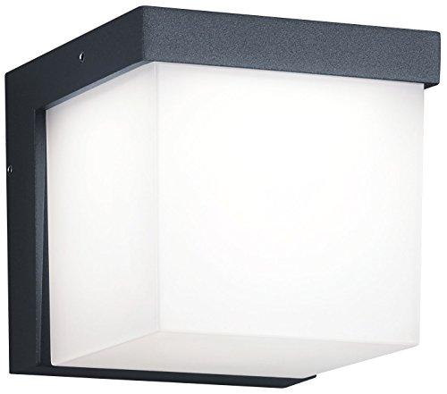 Trio Leuchten LED Außenleuchte Yangtze 228260142, Druckguss Aluminium anthrazit, 1x 3.5 Watt