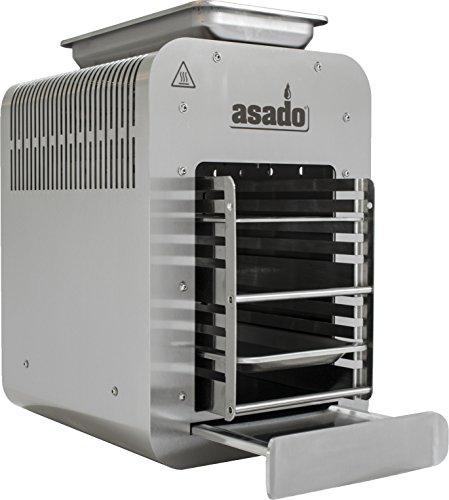 Asado 800°C Oberhitze-Gasgrill für Das Perfekte Steak Inklusive Grillrost Spülmaschinentauglich
