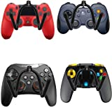 Game Controller Wall Mount Stand Holder Organizer Wall Rack Wall Mount Wall Clip Wall Hanger (4 Pack) for Xbox One PS4...
